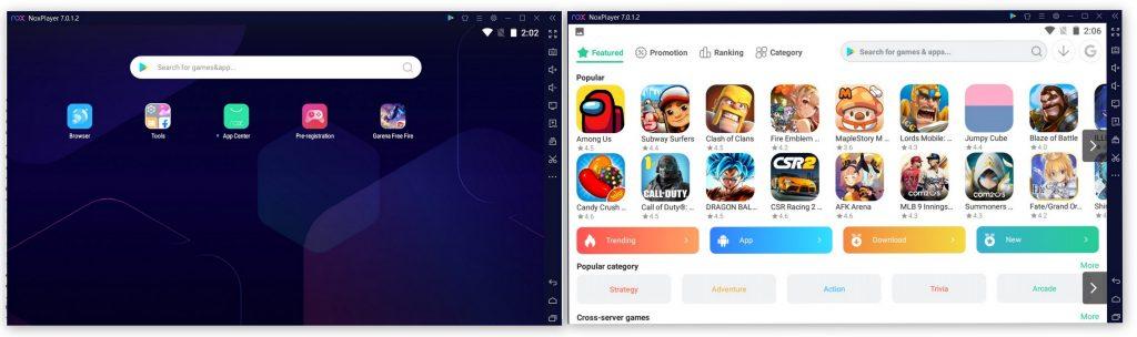 noxplayer screenshots